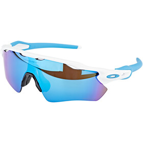 Oakley Radar EV Path Occhiali da sole, polished white/prizm sapphire